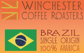Brazil Coffee Label