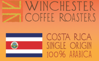 Costa Rica Single Origin Freshly Roasted Coffee Beans.