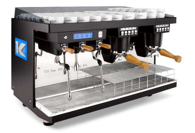 Elektra Kup Coffee Machine front