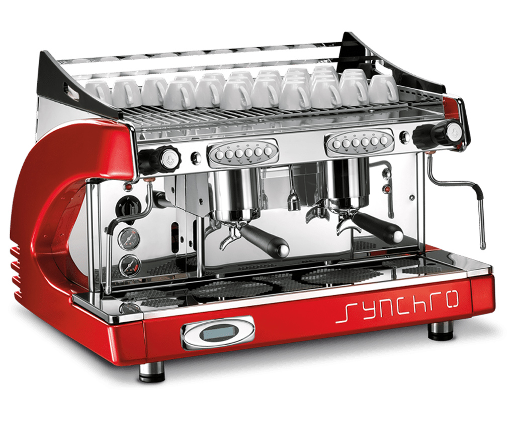 Synchro 2 group espresso machine..
