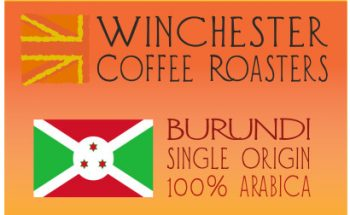 Burundi Coffee Label