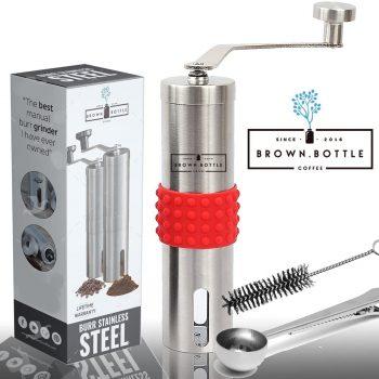Stainless steel hand grinder